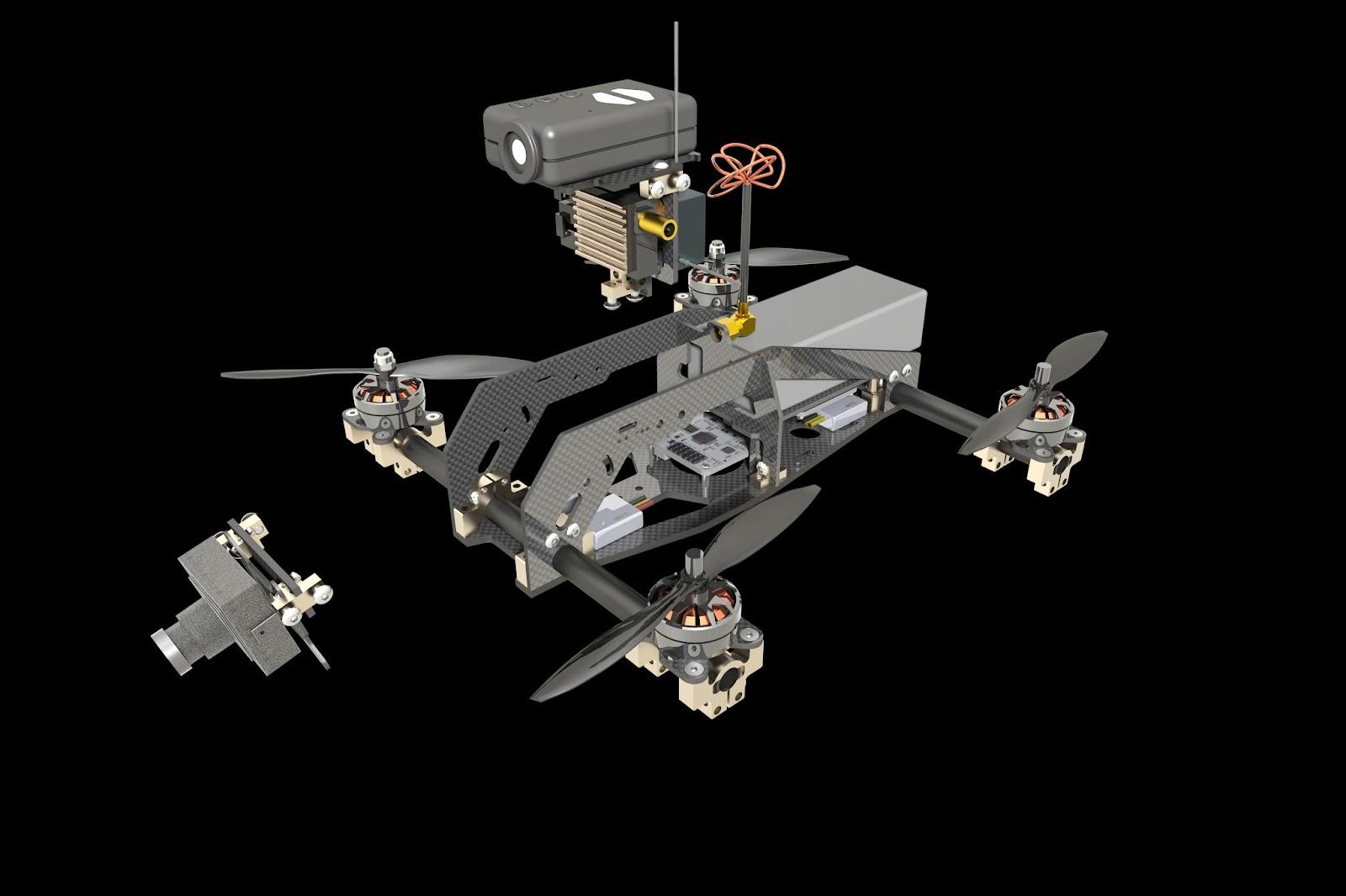 Quadcopter 250 Project - Hiperbock